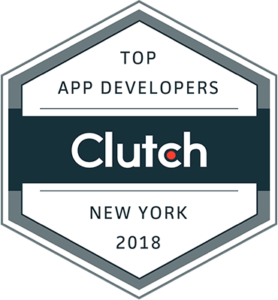 Evince Development Earns Spot in Clutch's Report of Top NYC App Developers in 2018