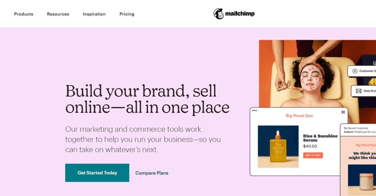 Mailchimp-Website-Design