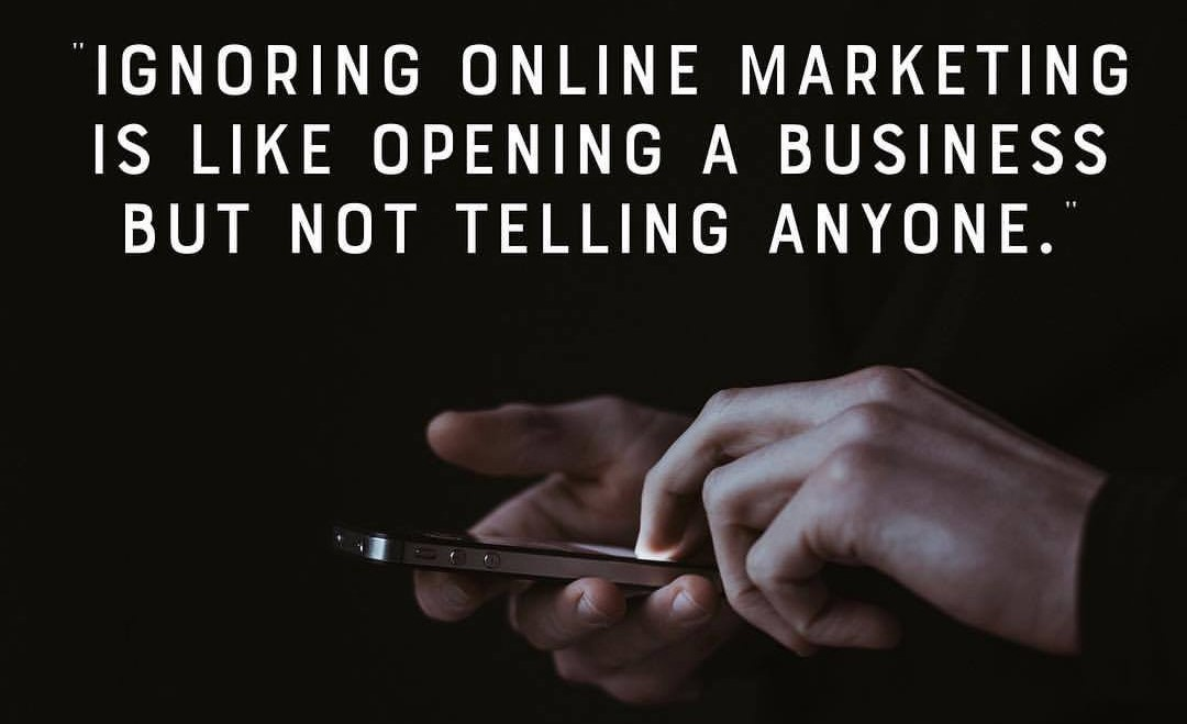 Don't ignore Digital Marketing