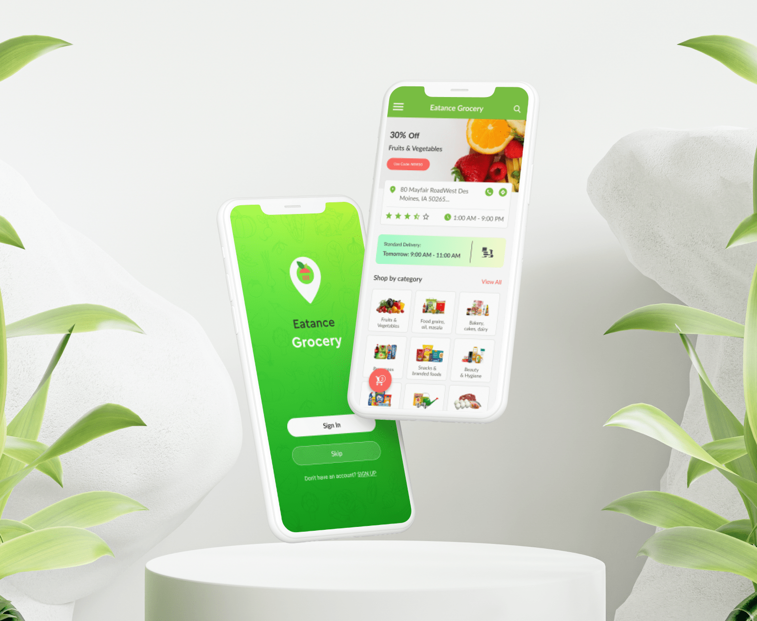 Eatance Grocery App