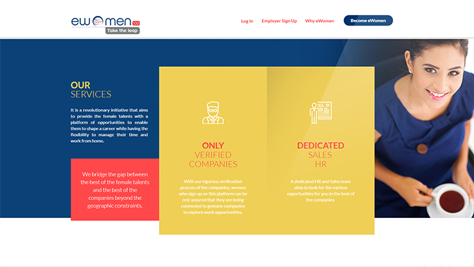 eWomen – Freelance Jobs Online for Women