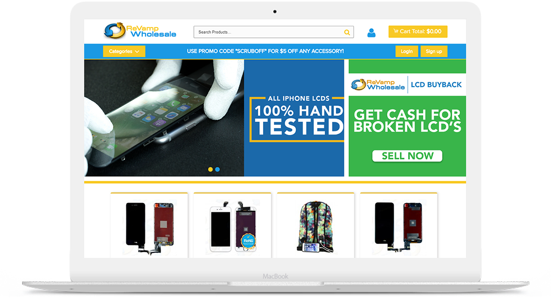 REVAMP WHOLESALE – B2B STORE FOR INC 500