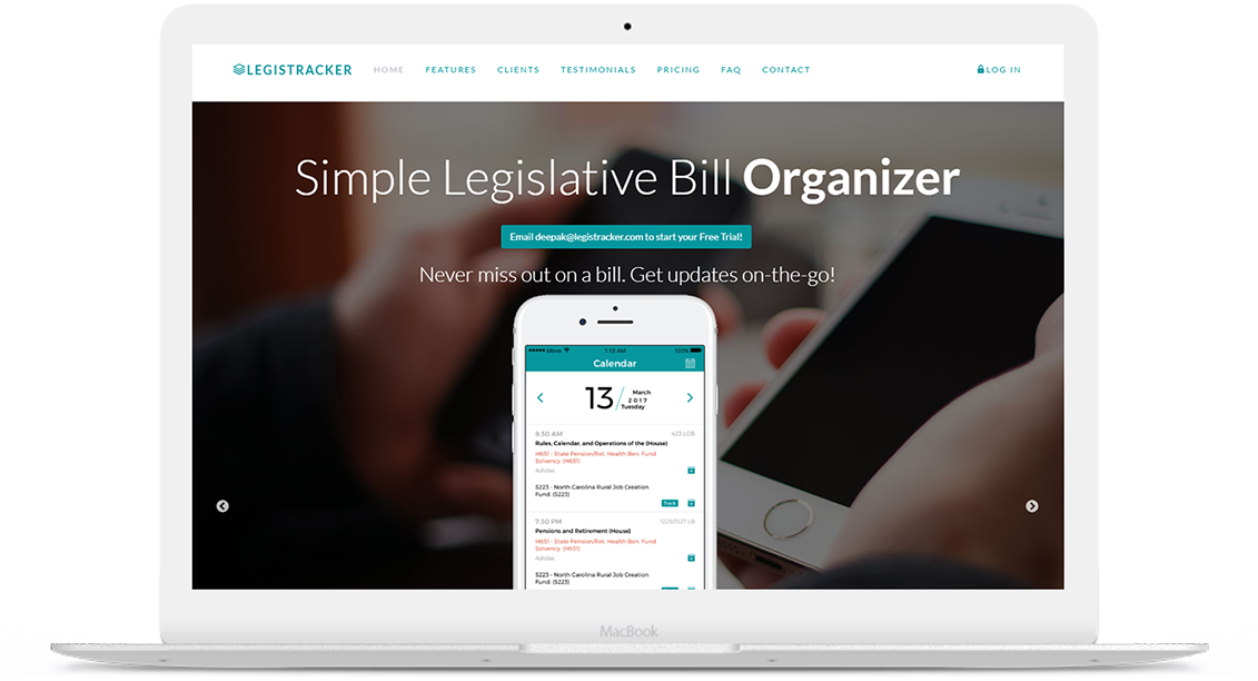 Legistracker – Legislative Bill Tracking