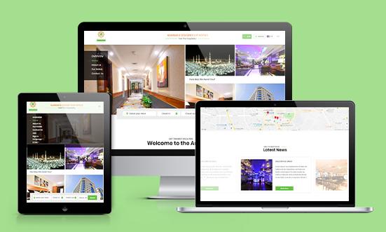 Ansar Hotel – Custom Hotel Booking Platform