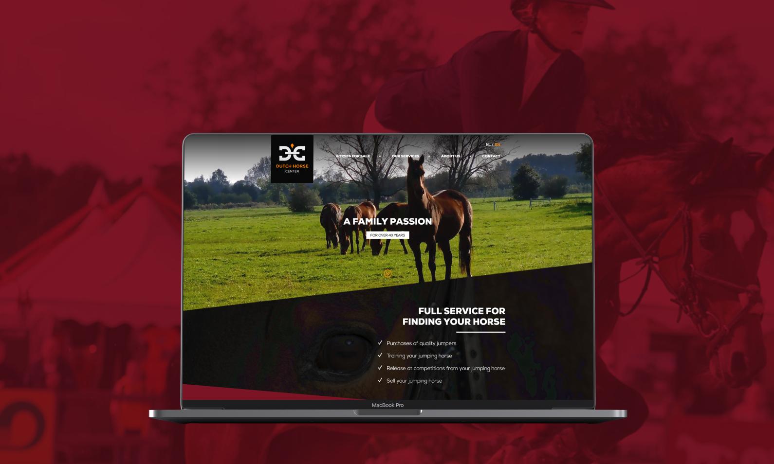Dutch horse center